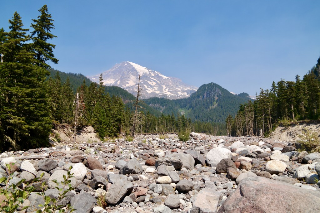 Carter Falls Trailhead Mount Rainier Washington
