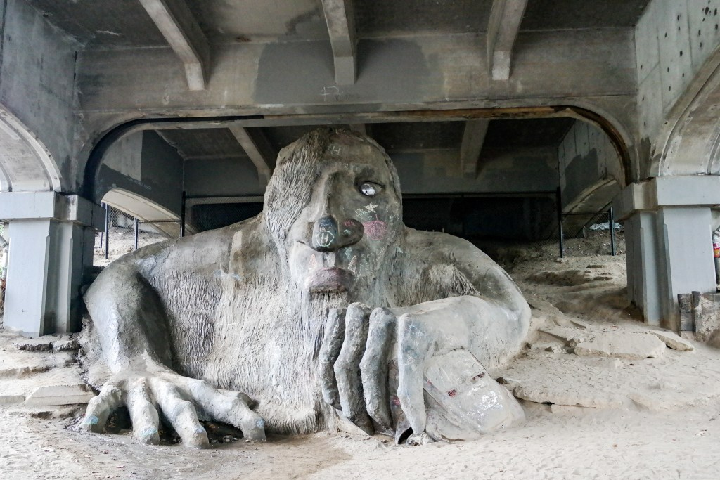 Fremont Troll Seattle Washington
