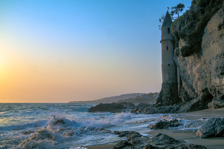 Pirates Tower Laguna Beach California