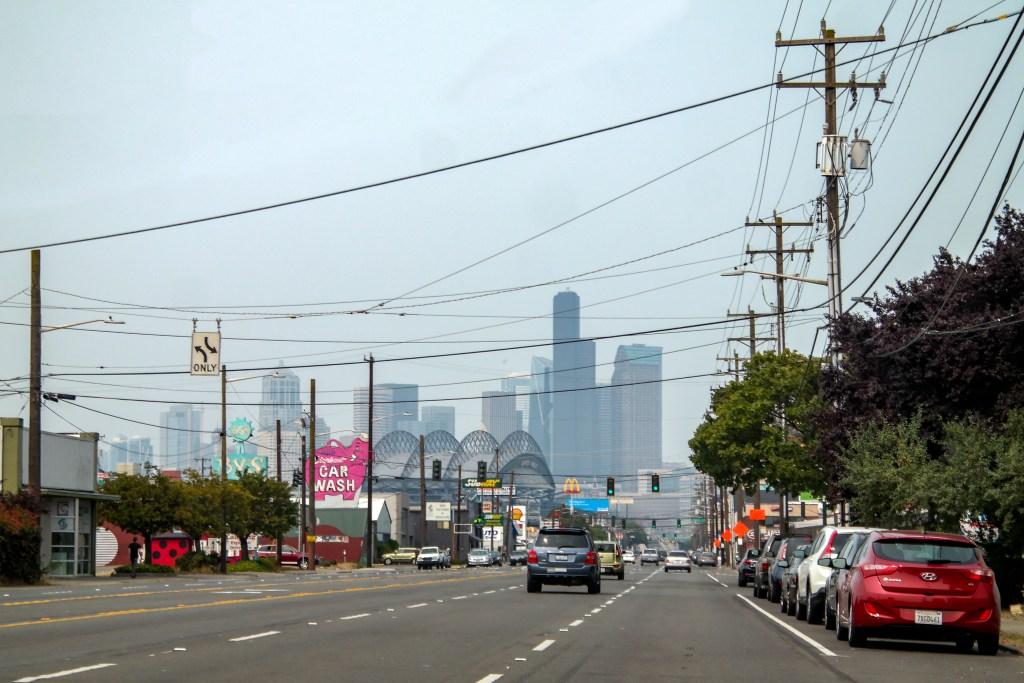 SoDo Skyline View Seattle Washington