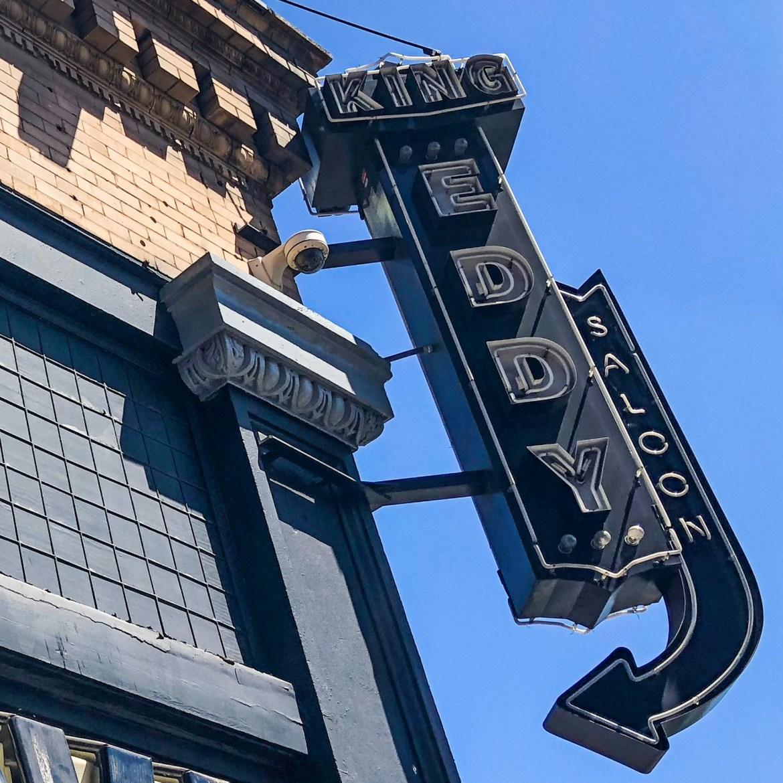 King Eddy Saloon Los Angeles California #kingeddysaloon