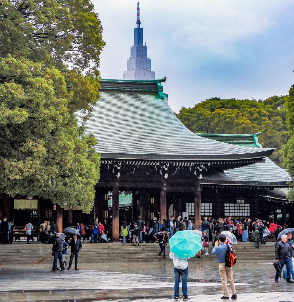 Meiji Shrine Shibuya Tokyo Japan