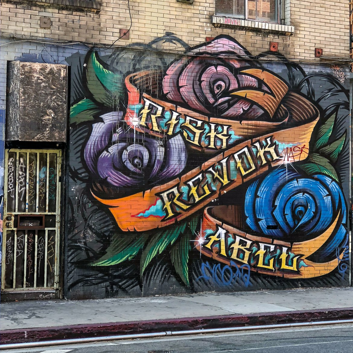 Arts District Downtown Los Angeles California #risk #revoke #abel
