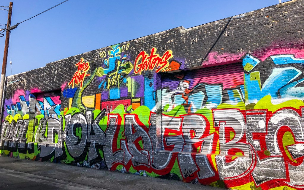 Arts District Downtown Los Angeles California
