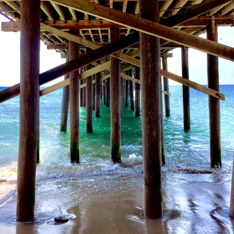 Malibu Fishing Pier Malibu California #malibu