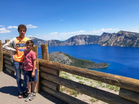 Crater Lake Oregon #familytraveloregon