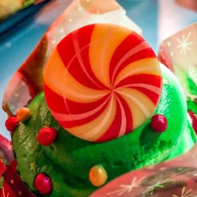 Disneyland vanilla cupcake Disneyland California