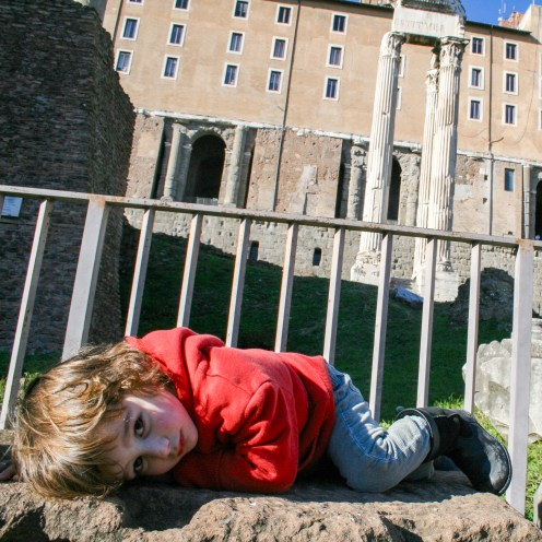 The Forum Rome Italy #familytravel