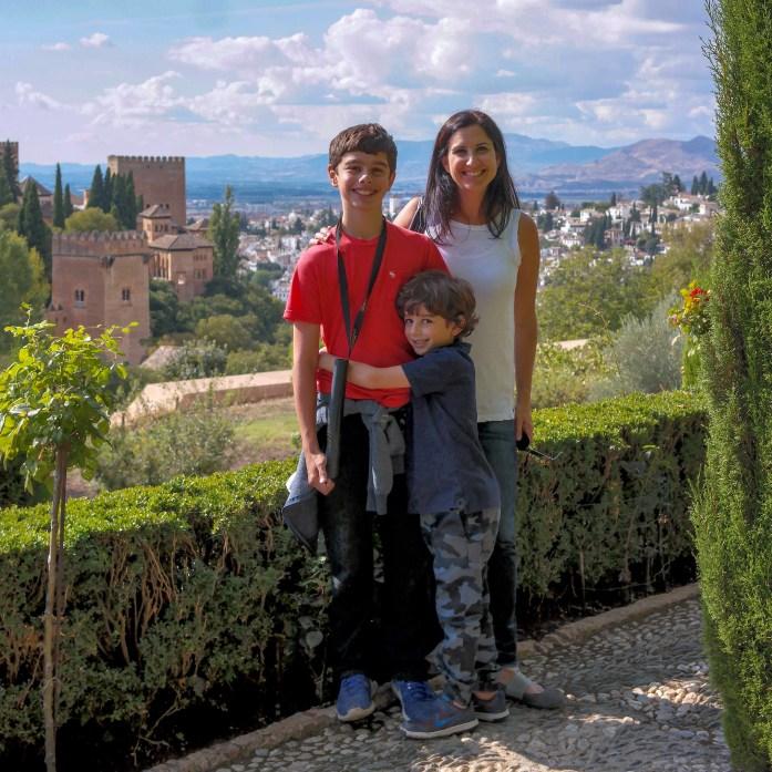 Alhambra Granada Spain #generalife #familytravel