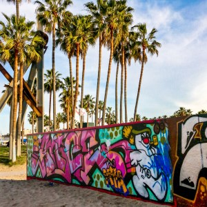 The Venice Art Walls #holidaystreetart #venicebeach