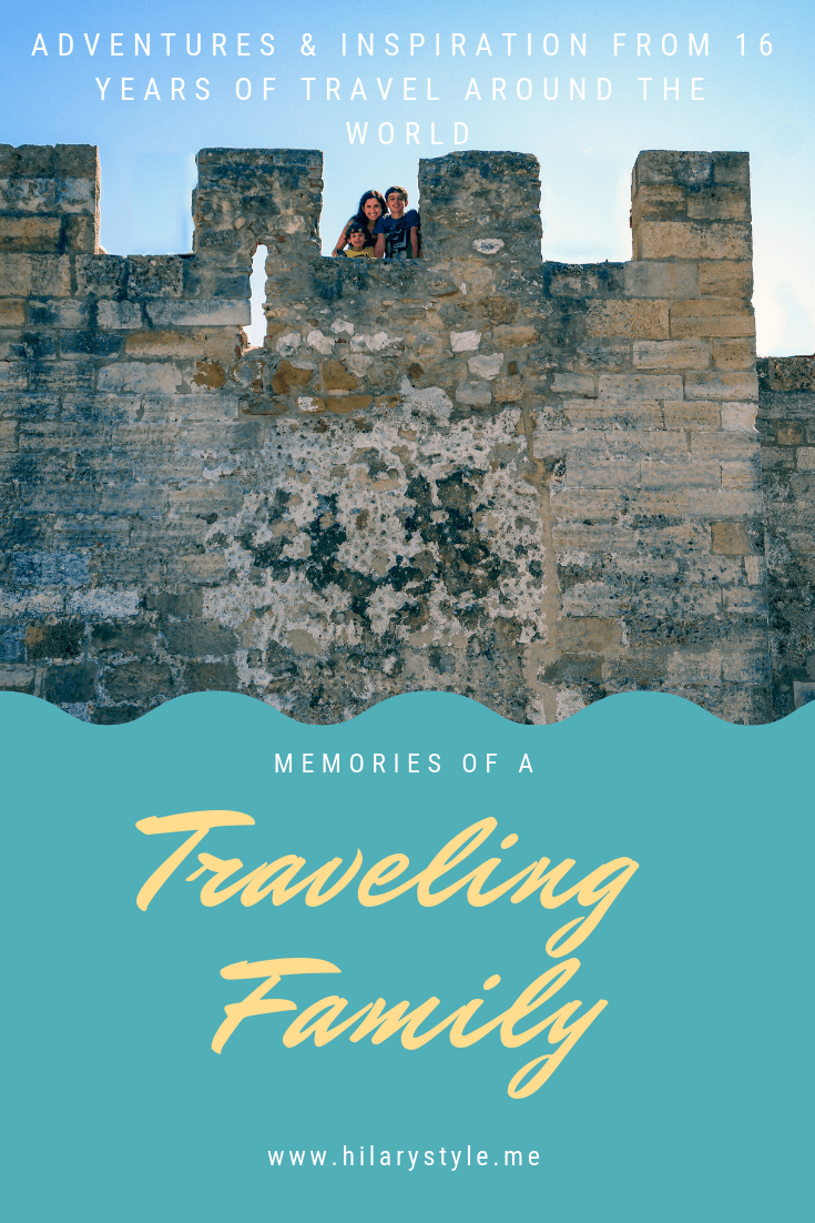 Memories of A Traveling Family 16 years of inspiration and adventures from 16 years of around the world family travel