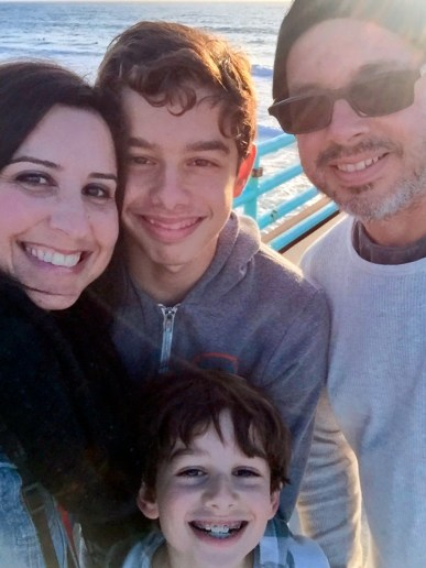 Manhattan Beach California #familyselfie