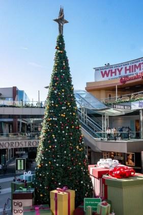Santa Monica Place Mall #santamonicachristmas