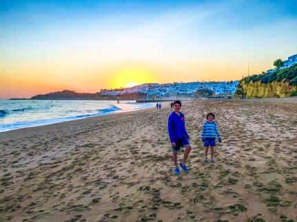 Albufeira Algarve Portugal #familytravel