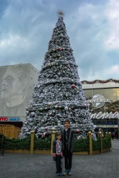 Universal City Walk Christmas Tree #universalcitywalkchristmas