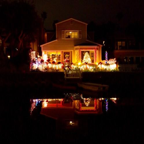 Venice Canals Holiday Venice California