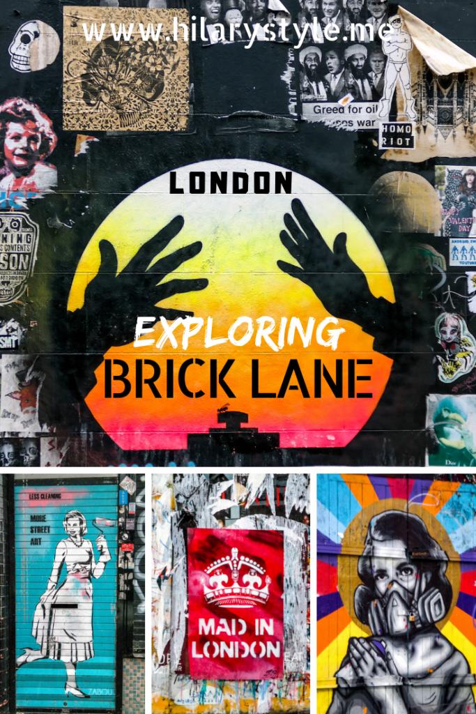 Brick Lane Street Art London England United Kingdom #streetart #bricklane #thingstodoinlondon #londonstreetart