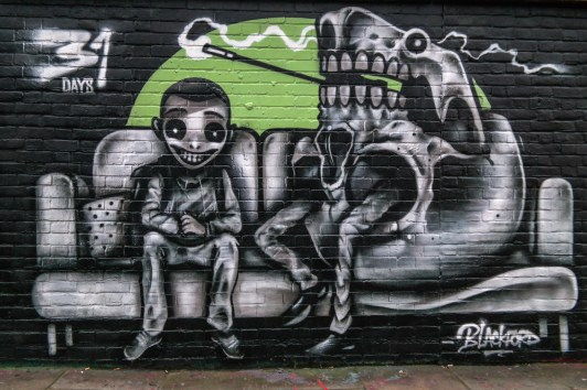 Brick Lane Graffiti London England United Kingdom #bricklane #blackford