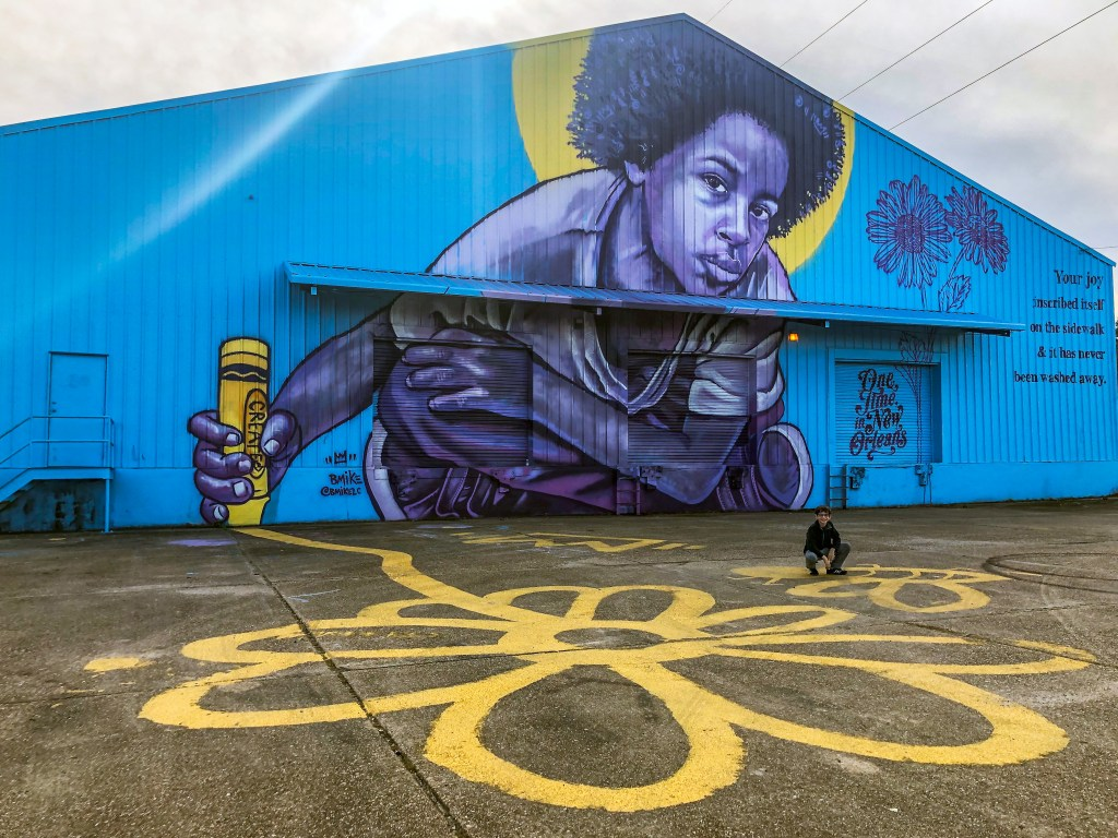 One Time in New Orleans Artist: BMike Bywater New Orleans Louisiana