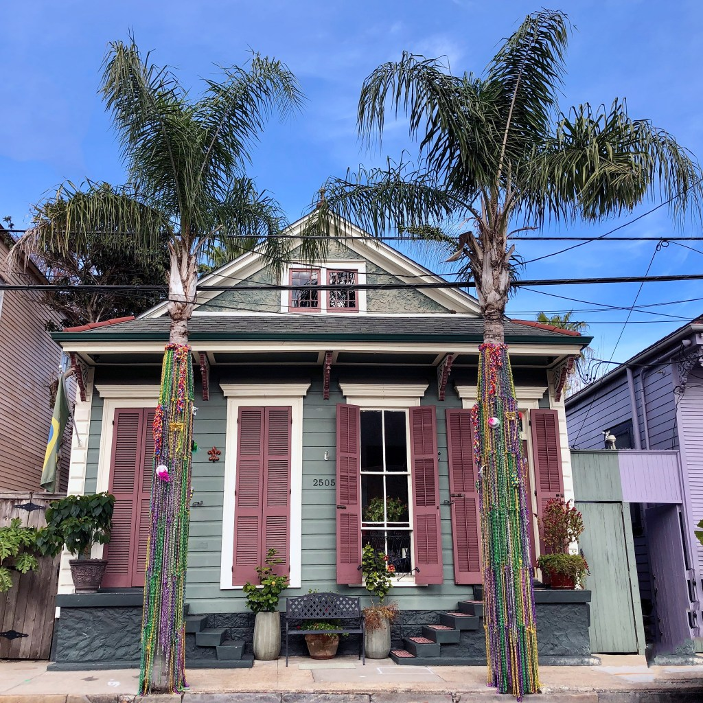 Marigny Mardi Gras House New Orleans Louisiana