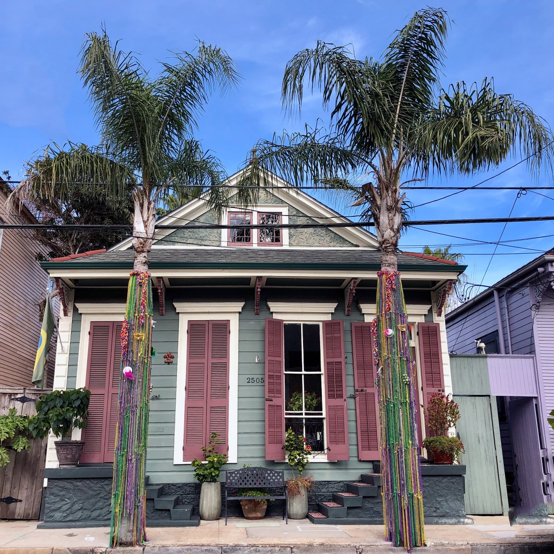 Marigny Mardi Gras House New Orleans Louisiana