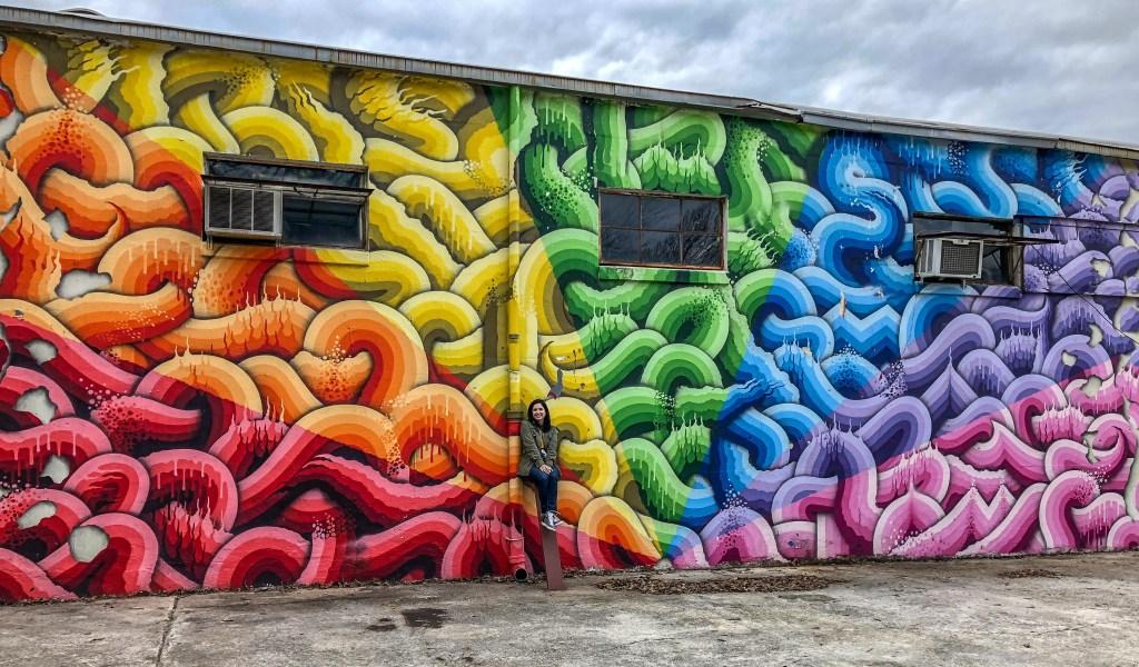 Ricky Watts Rainbow Wall Atlanta Georgia