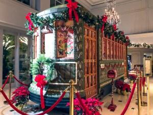 Ritz Carlton Gingerbread Streetcar New Orleans Louisiana
