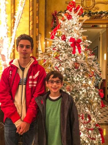 Roosevelt Hotel Lobby New Orleans Louisiana
