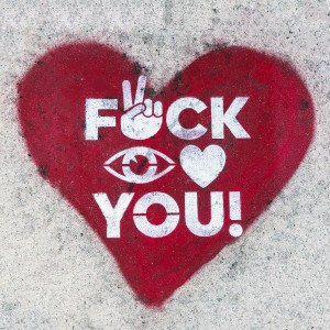 F* I love you Wynwood Miami Florida