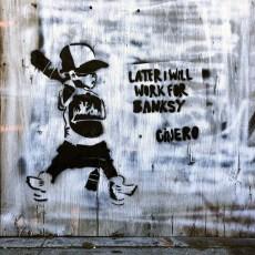 #lateriwillworkforbanksy #ginero #wynwoodartdistrict