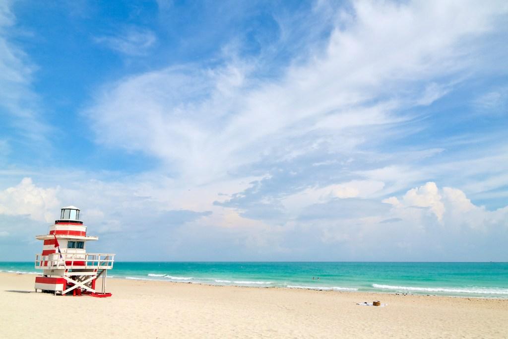 Lifeguard Tower Miami Beach Florida #lifeguardtower