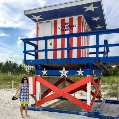 Lifeguard Tower Miami Beach Florida #southbeach