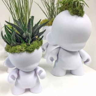Plant the Future Munny Planters Wynwood Miami Florida #munnnydoll