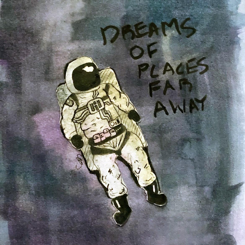 Dreams of Places Far Away #shgudgel