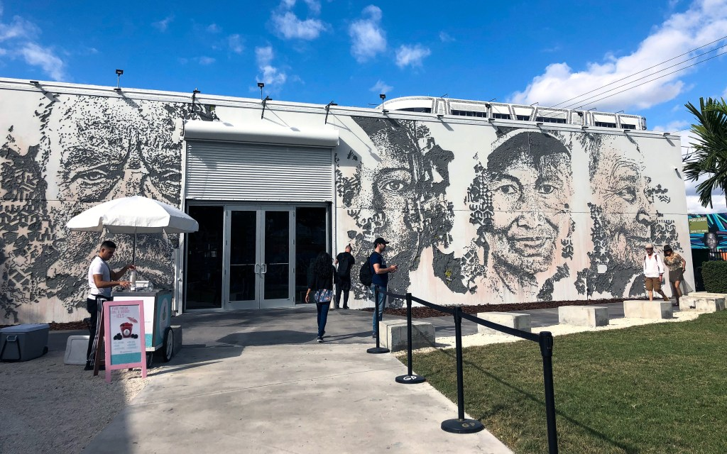 Vhils Exhibition Wynwood Miami Florida