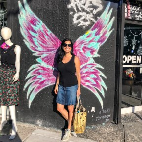 #ChloeHakakian Wynwood Miami Florida #angelwings