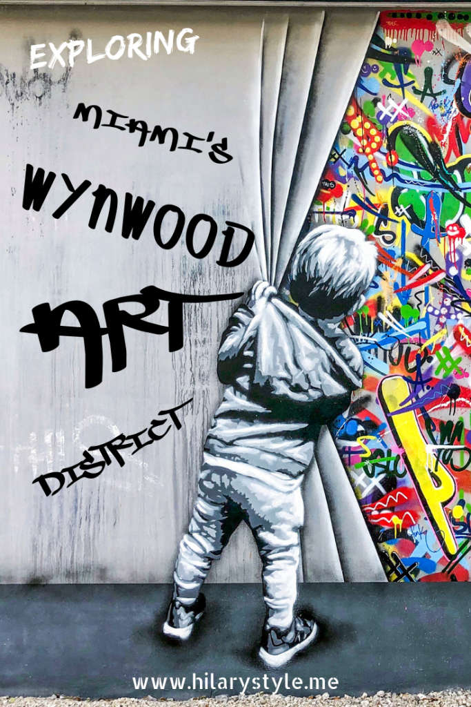 Things to see and do while exploring the Wynwood Art District in Miami Florida. #wynwoodwalls #martinwhatson #miamiflorida #streetartmiami #thingstoseeanddoinwynwood #wynwoodmiami