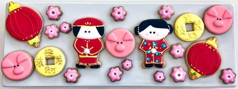 #lunarnewyear #royalicingcookies #sugarcookies