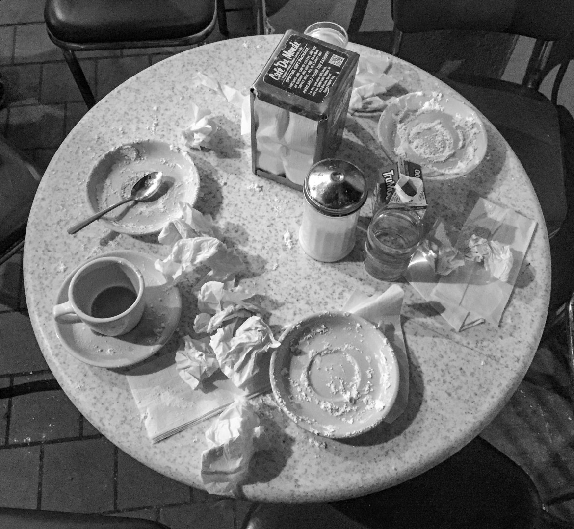 Cafe Du Monde The French Quarter New Orleans Louisiana