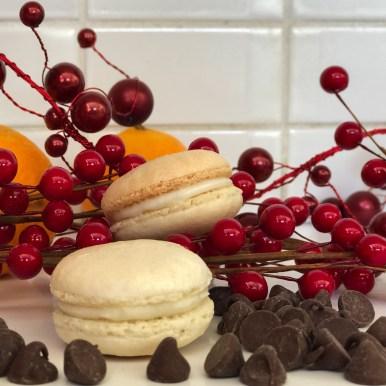 Vanilla Chocolate Ganache French Macaron