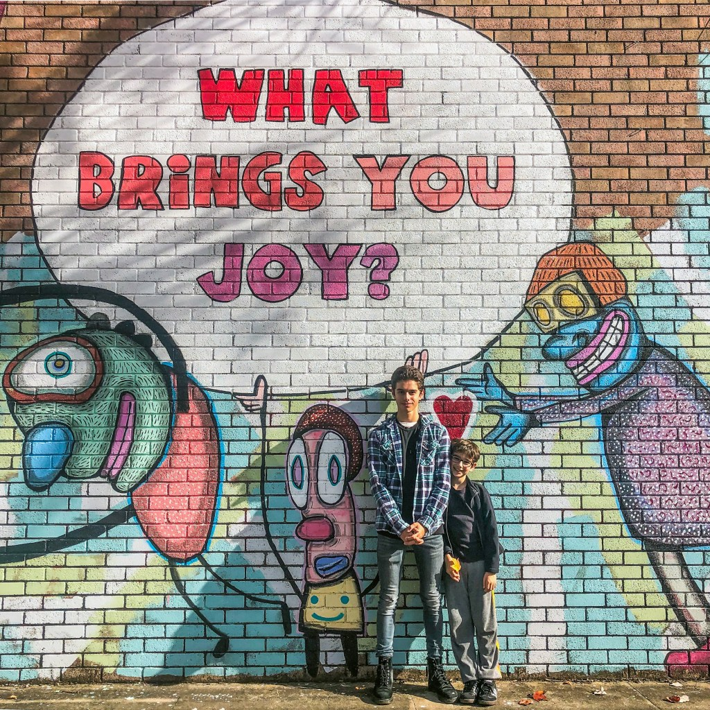 What Brings You Joy S & E Hirsch #Bywater #NewOrleans #Louisiana #streetart
