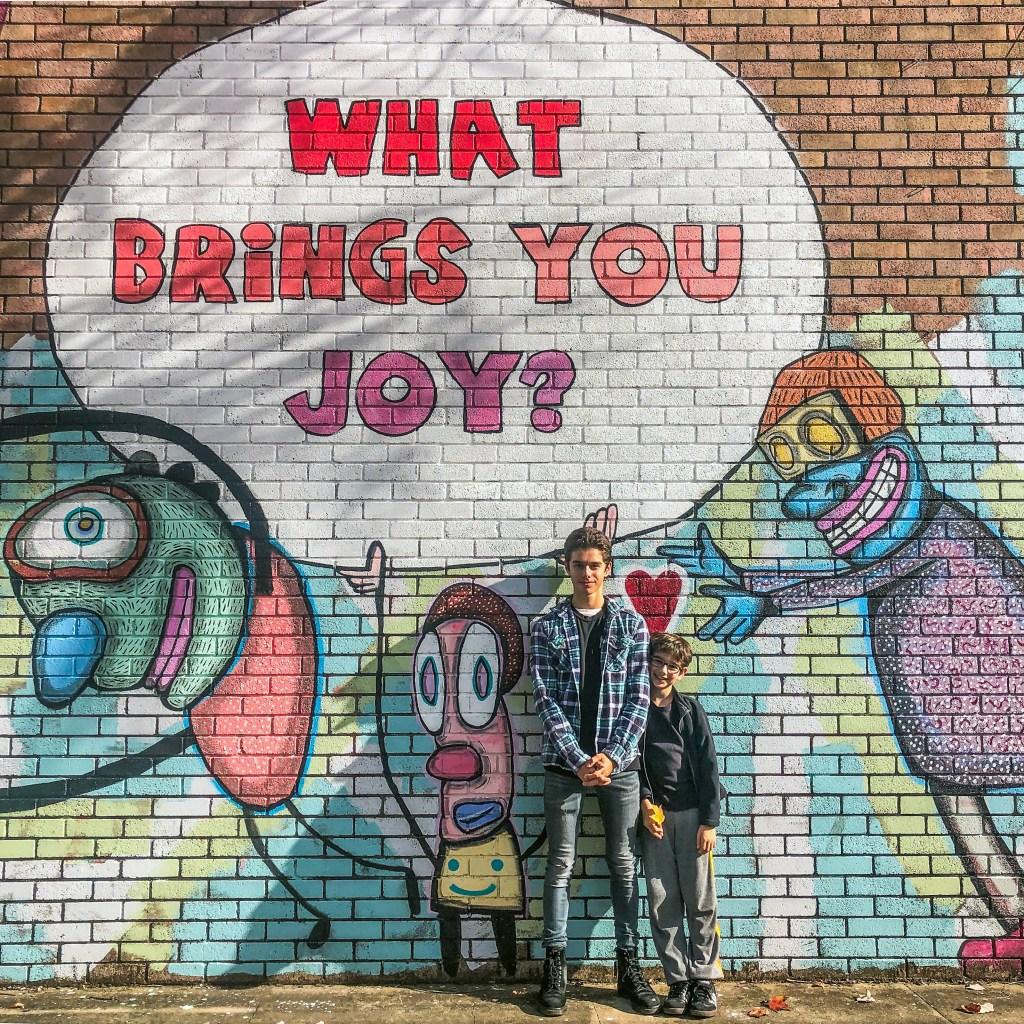 What Brings You Joy S & E Hirsch #Bywater #NewOrleans #Louisiana #streetart