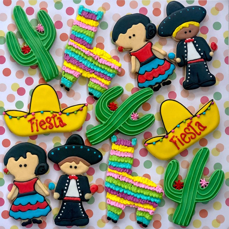 #fiestacookies #cookieshilarystyle #cookiesareeverything