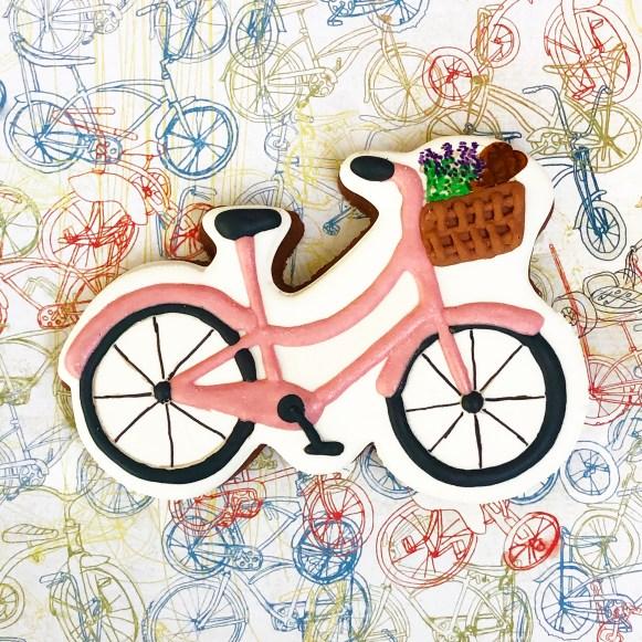 #bicyclecooke #cookieshilarystyle #cookiesareeverything #decoratedsugarcookies
