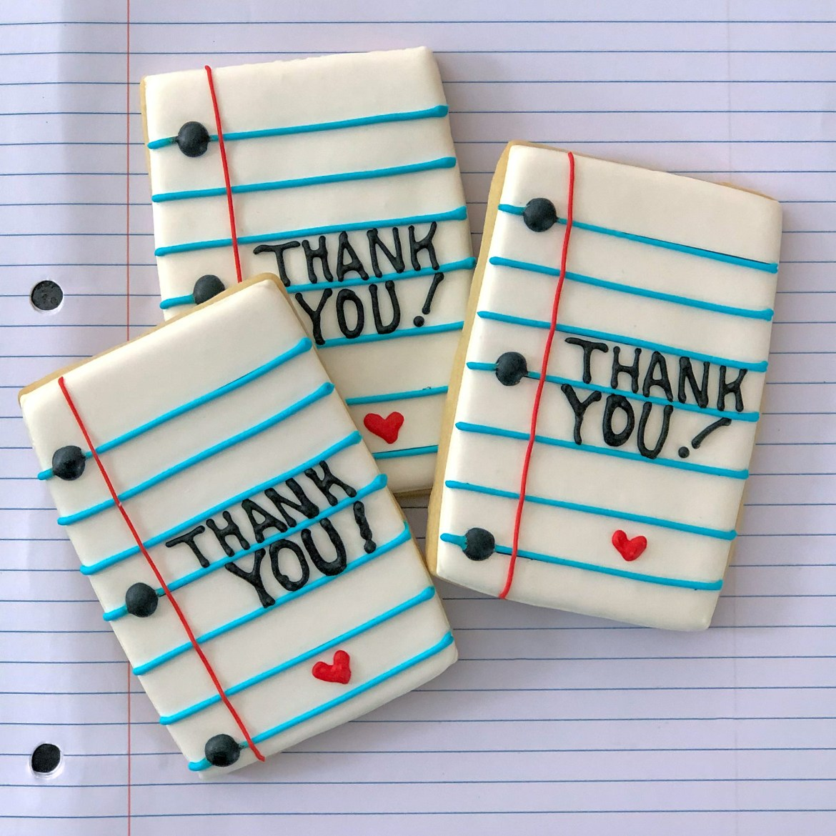 #manythanks #cookieshilarystyle #cookiesareeverything #notebookpapercookies