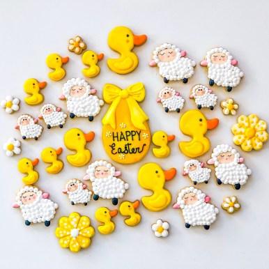 #cookieshilarystyle #cookiesareeverything #eastercookies #customcookies #easterchicks