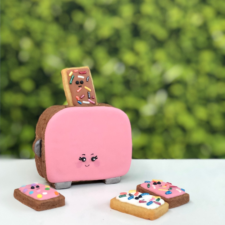 #cookieshilarystyle #cookiesareeverything #customcookies #toastercookie