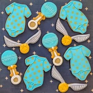 #cookieshilarystyle #harrypottercookies #babyshowercookies #customsugarcookies #moviecookies