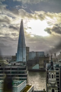 View from The Monument London England United Kingdom #theshard