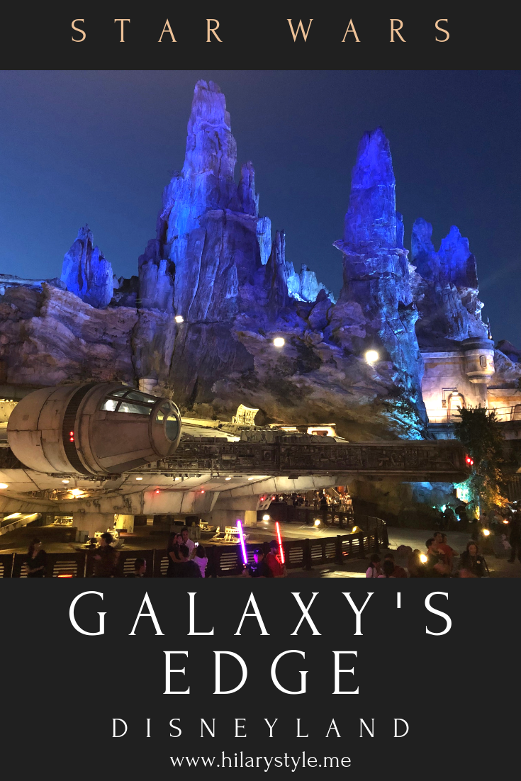 Disneyland California #GalaxysEdge #StarWars #hilarystyleme #thingstodoinla #losangeles